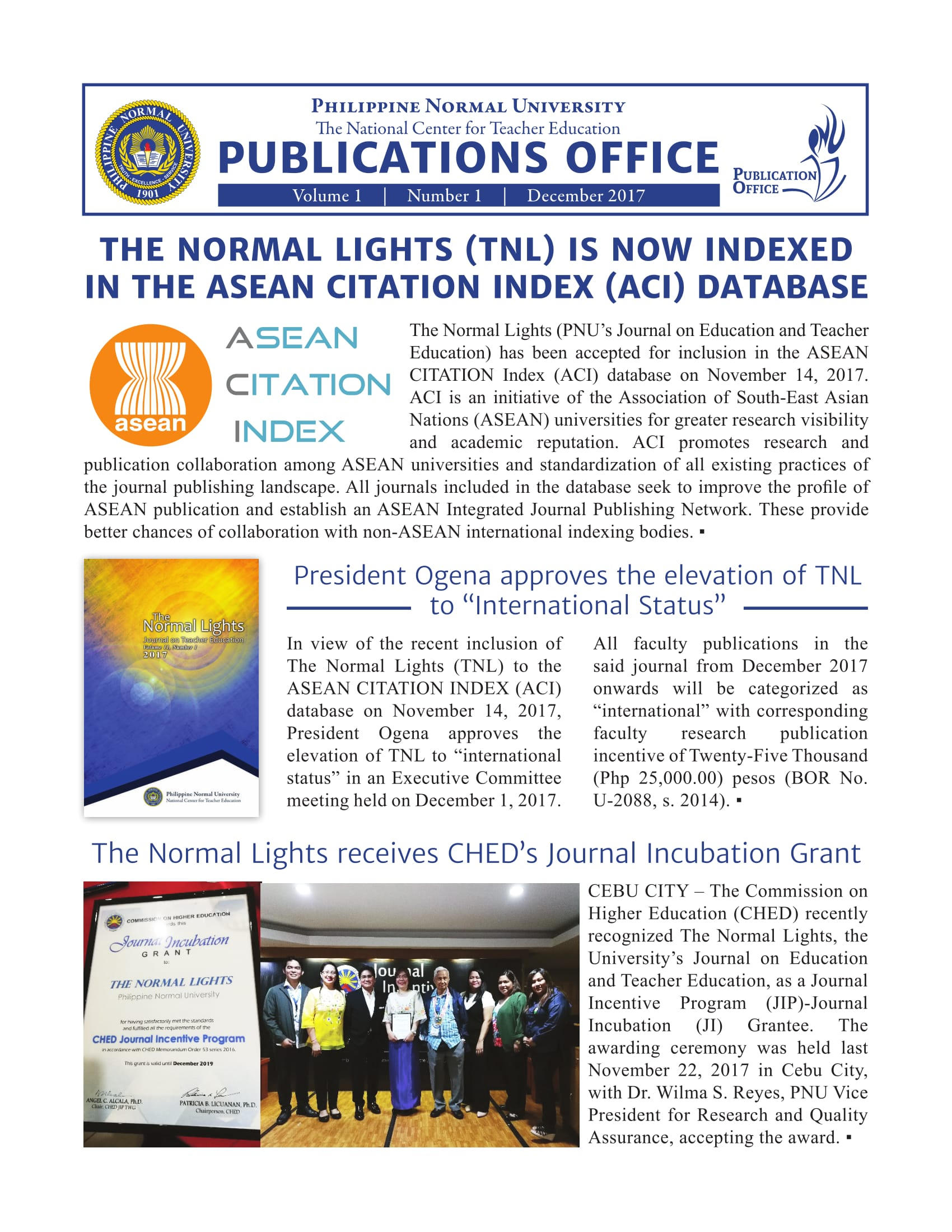 Publication Office Newsletter Dec 2017 S (1) 1 ...